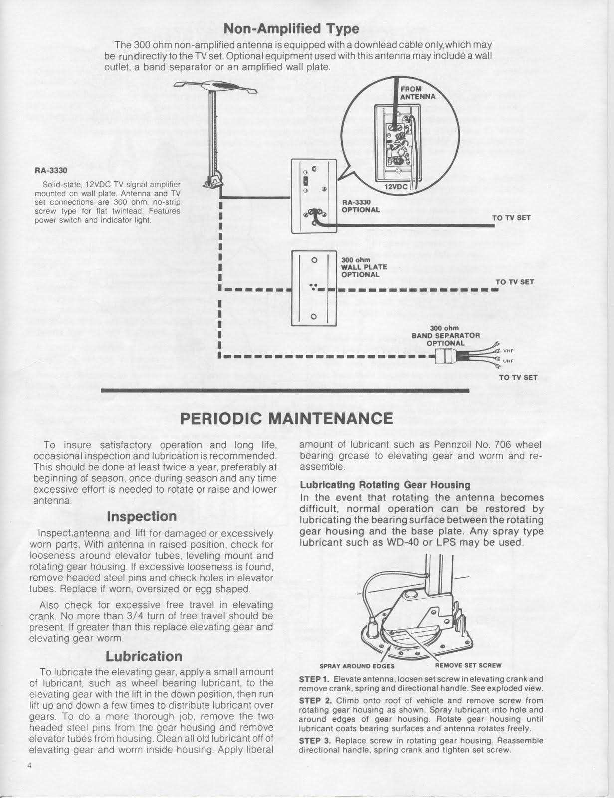 rv tv antenna booster wiring diagram 1999 gmc sierra trailer 18 images